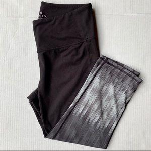 Athleta Chaturanga Ombré Capri Leggings Medium